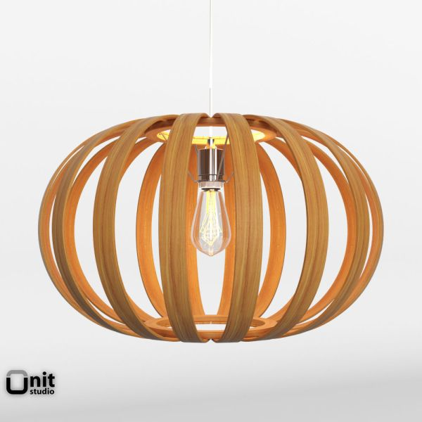 Bentwood Pendant Oblong by West Elm 3D model   CGTrader bentwood pendant oblong by west elm 3d model max obj 3ds fbx dwg