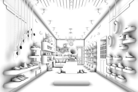 shopping mall interior sketch » 4K Pictures | 4K Pictures [Full HQ ...