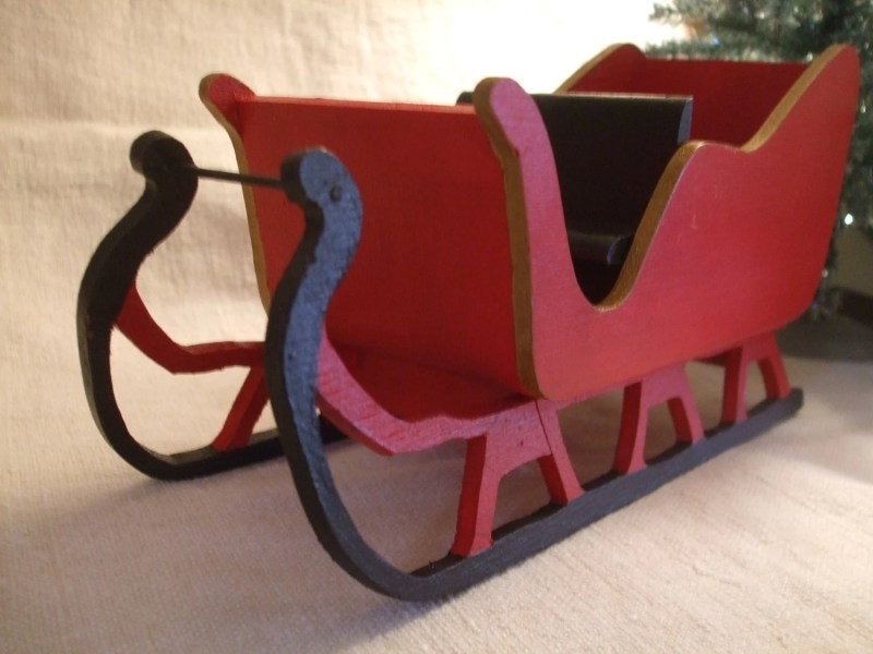 Wooden Christmas Sleigh Plans DIY Free Download plans a bench seat     wooden christmas sleigh