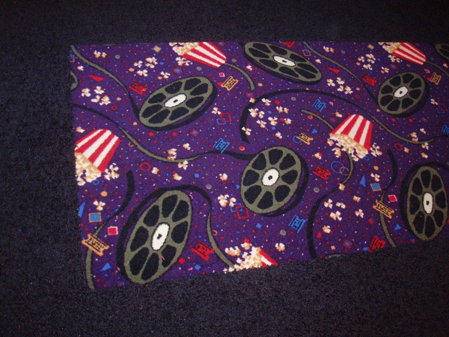 Purple Area Rugs Black And White