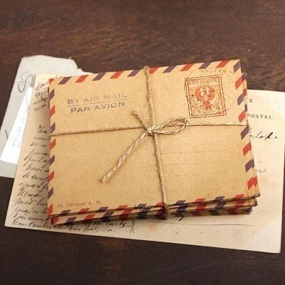 Stamp Envelope Valentine