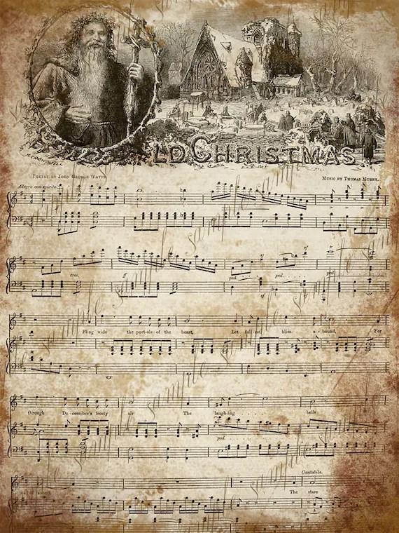 Holiday Carols Sheet Music Free