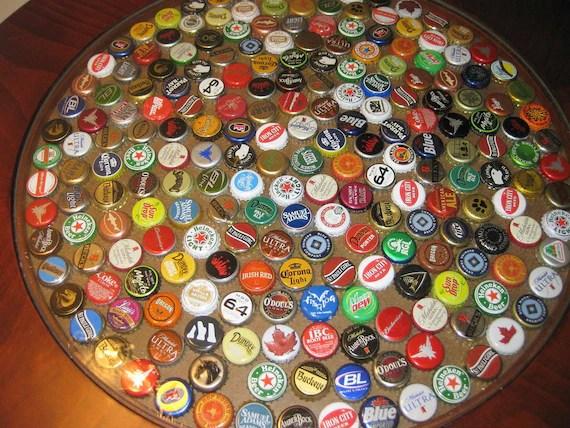 Items Similar To Bottle Cap Pub Table On Etsy