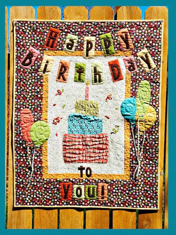 Birthday Quilt Make A Wish Quilt Pattern