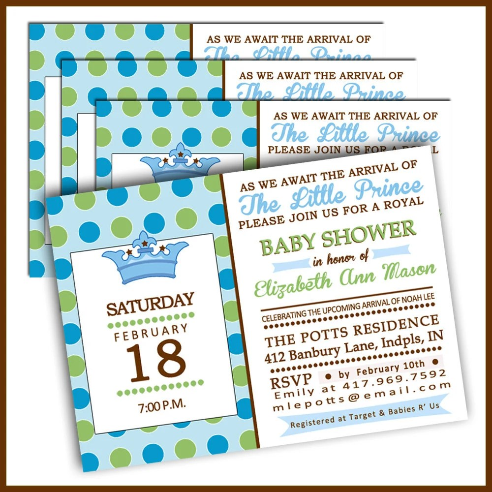 Order Baby Shower Invitations