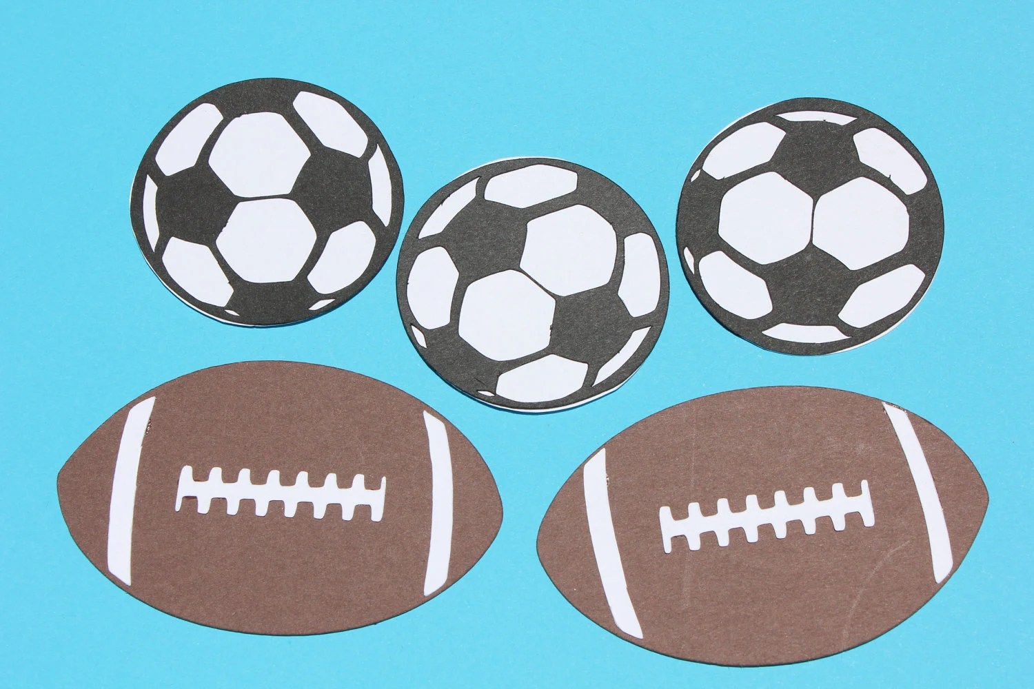 Soccer Thank You Cards Handmade