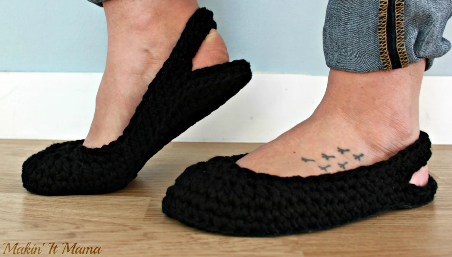 Women's Cozy House Slippers Summer Slippers by makinitmama ...