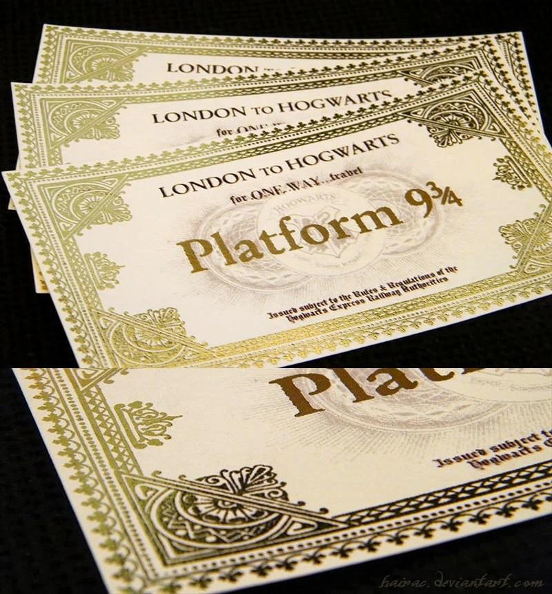hogwarts express ticket - 800×860