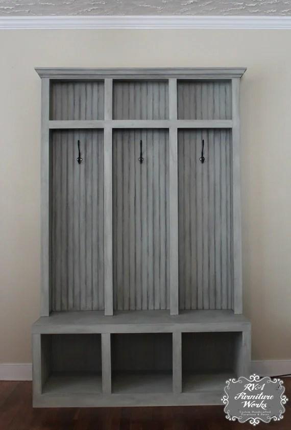 Entryway Mudroom Locker Amp Bench 3 Lockers