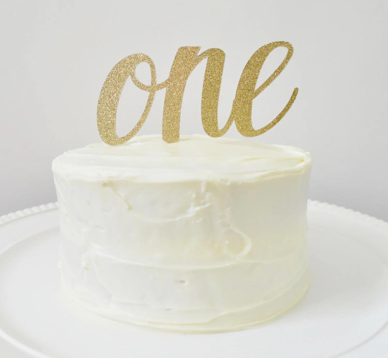 Custom Glitter Number Cake Topper Cake Topper By