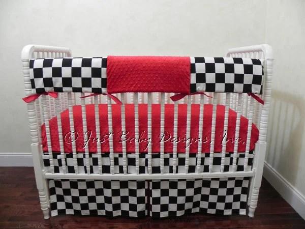Custom Bumperless Crib Bedding Set Mario Boy By