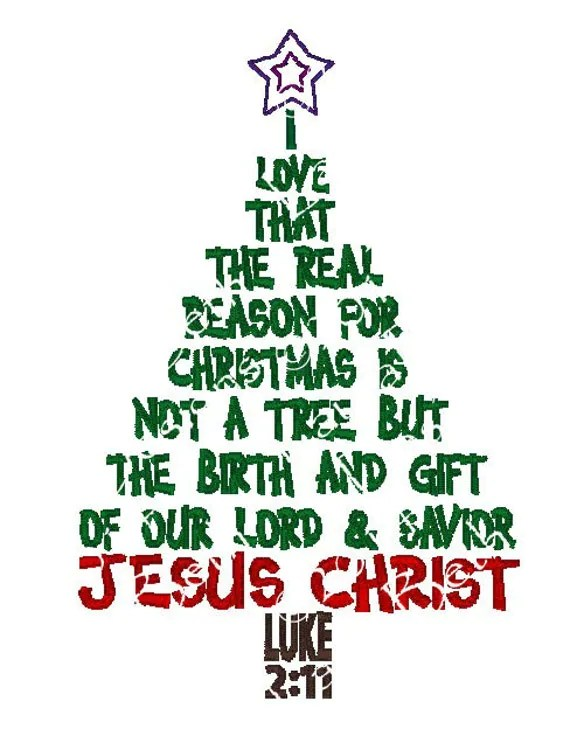 I love that the real reason for Christmas by ...