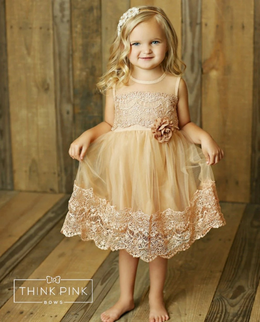Flower Girl Dress Lace Flower Girl Dress Country By