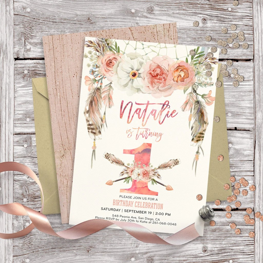 Birthday Invitation Layout