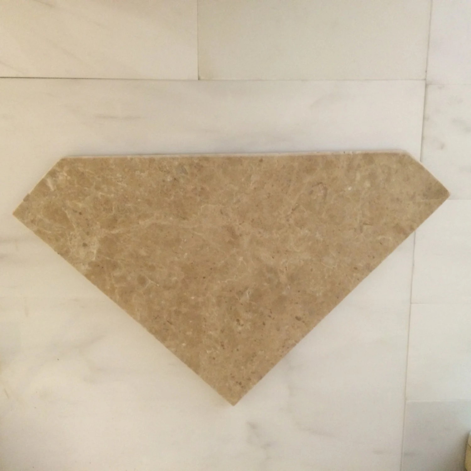 Etching Diamond Travertine