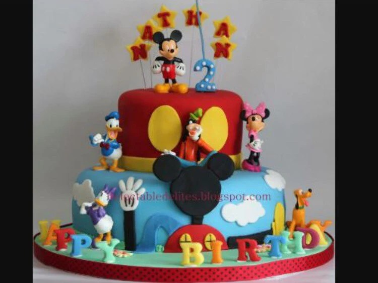 Birthday Mickey Mouse Happy Printable Letters
