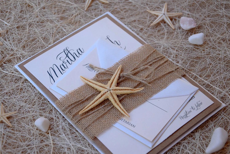 Creative Rustic Wedding Invitations