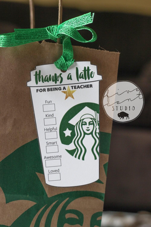 Latte Printable Template Starbucks Cup