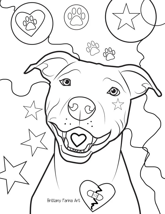 Pit Bulls Pages My Homies Coloring Are