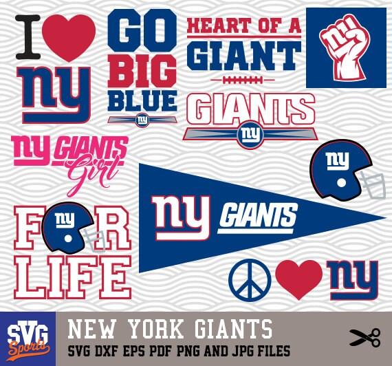 Ny Giants Logo Silhouette