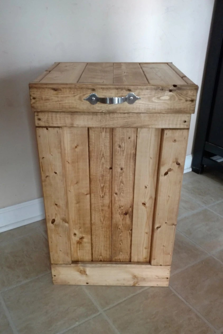 Wooden Garbage Containers