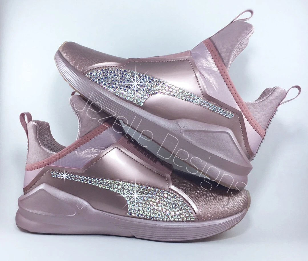 Kylie Jenner Puma Shoes Rose Gold