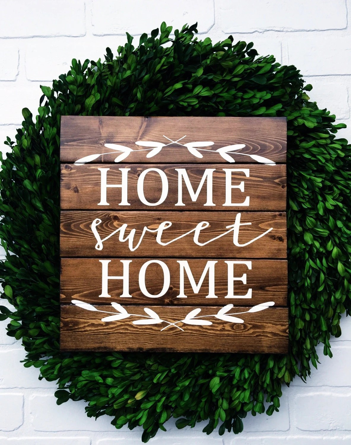 Wooden Signs Home Decor