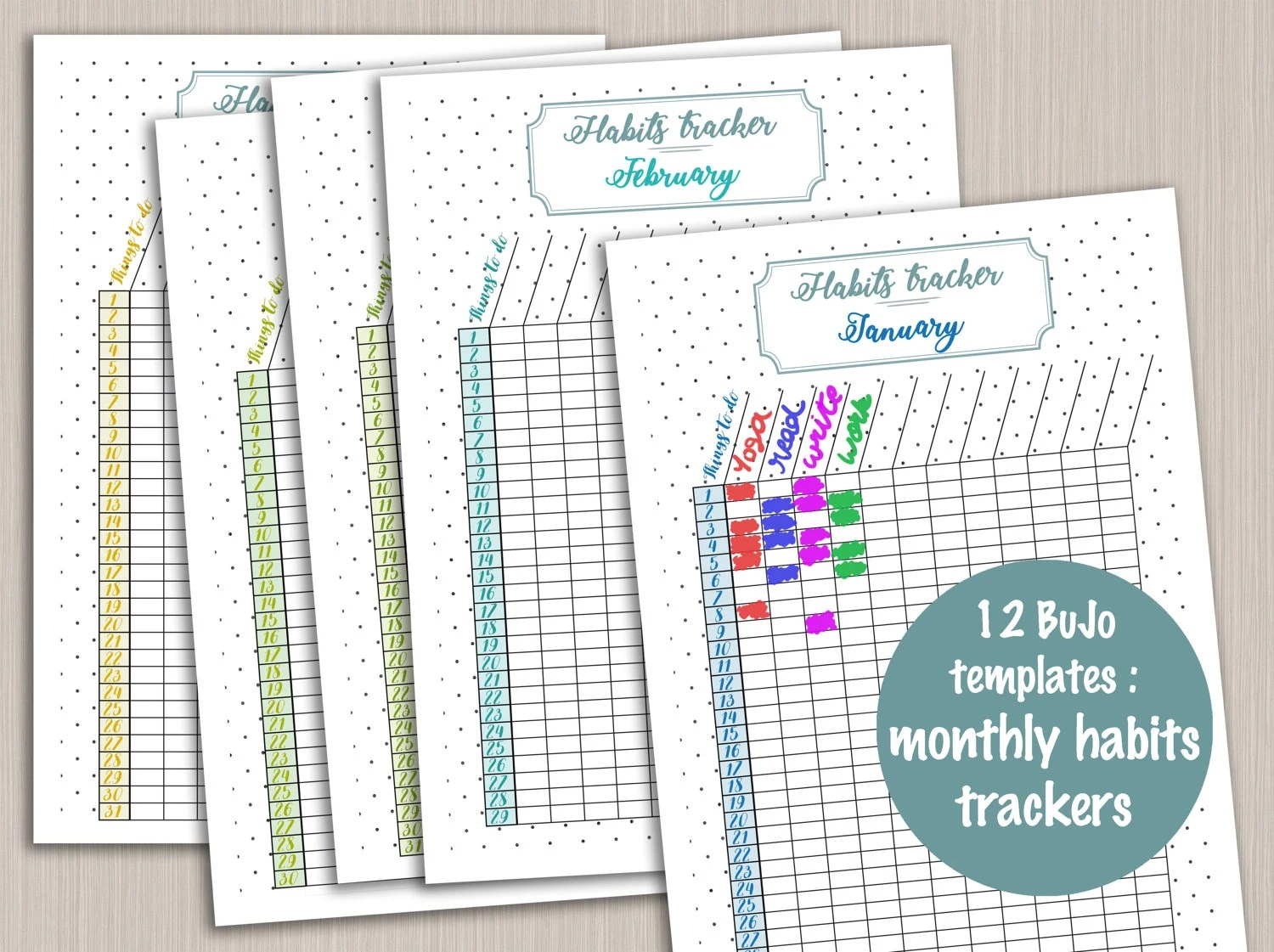 Daily Planner Templates Diy