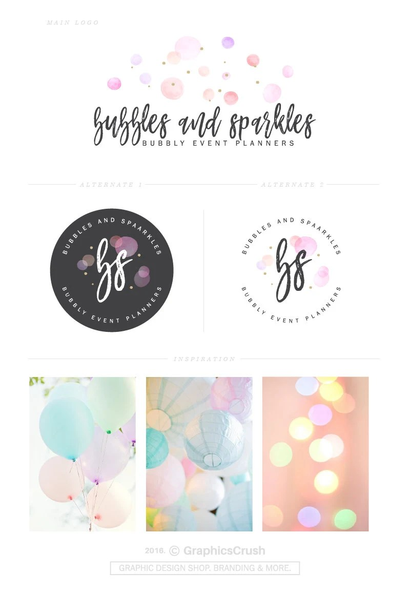 Custom Wedding Bubbles