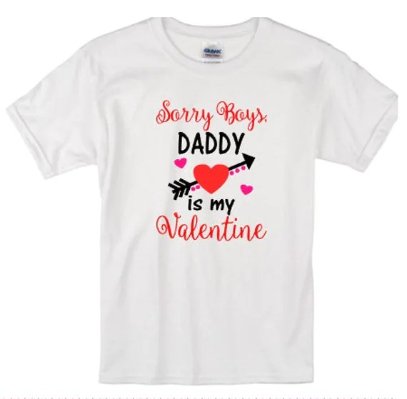 Valentines Day Saying Custom Shirts Babies