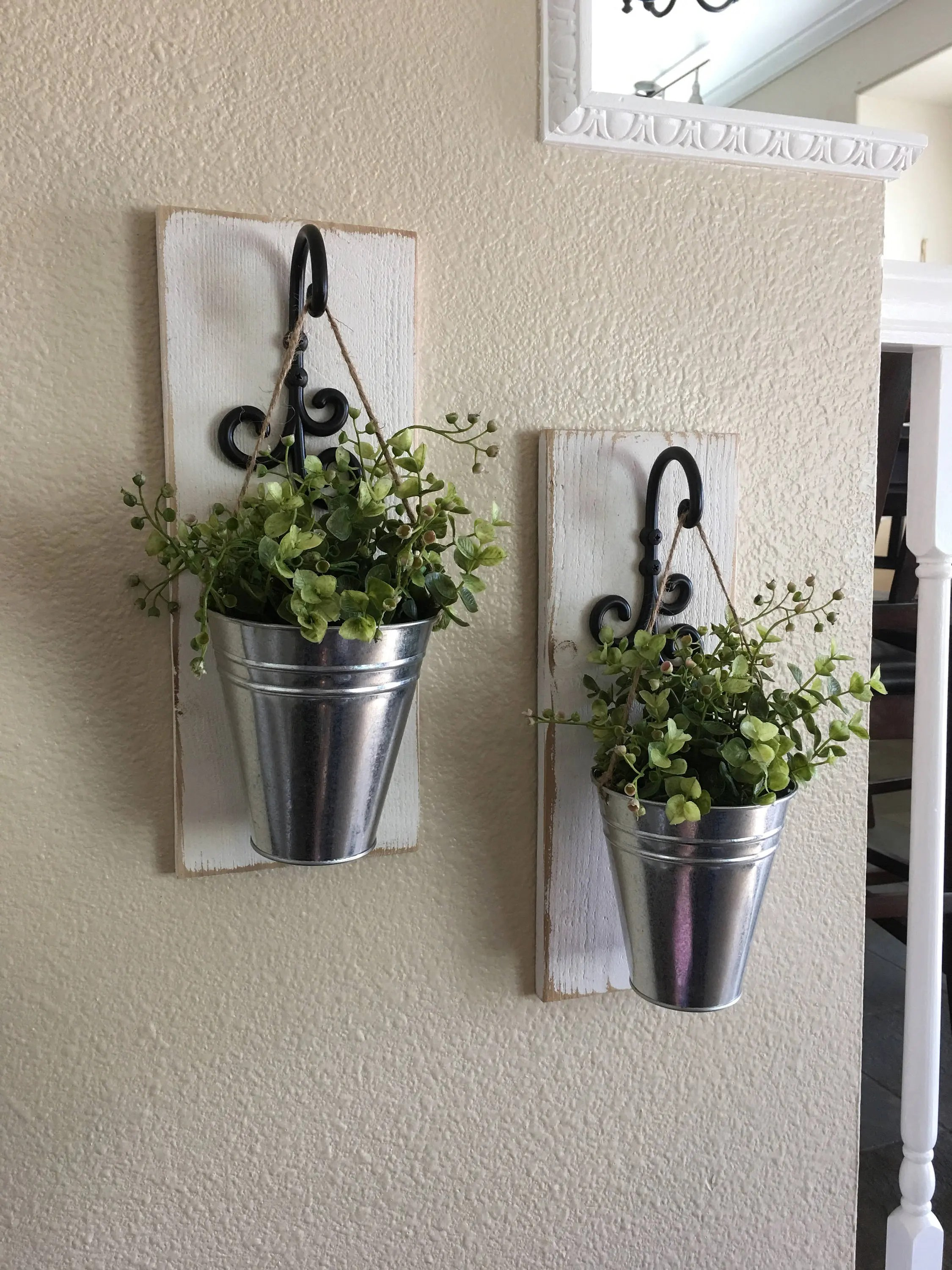 Galvanized Wall Decor