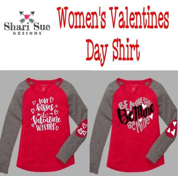 Wpomen Valentines Shirts