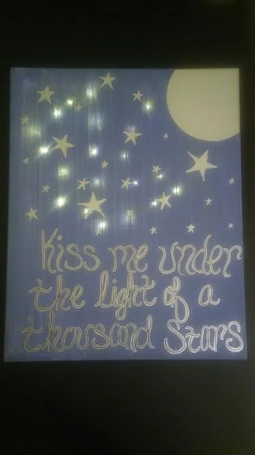 Kiss Me Under Light Thousand Stars