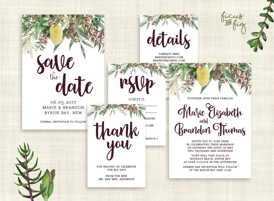 How Make Your Own Save Dates