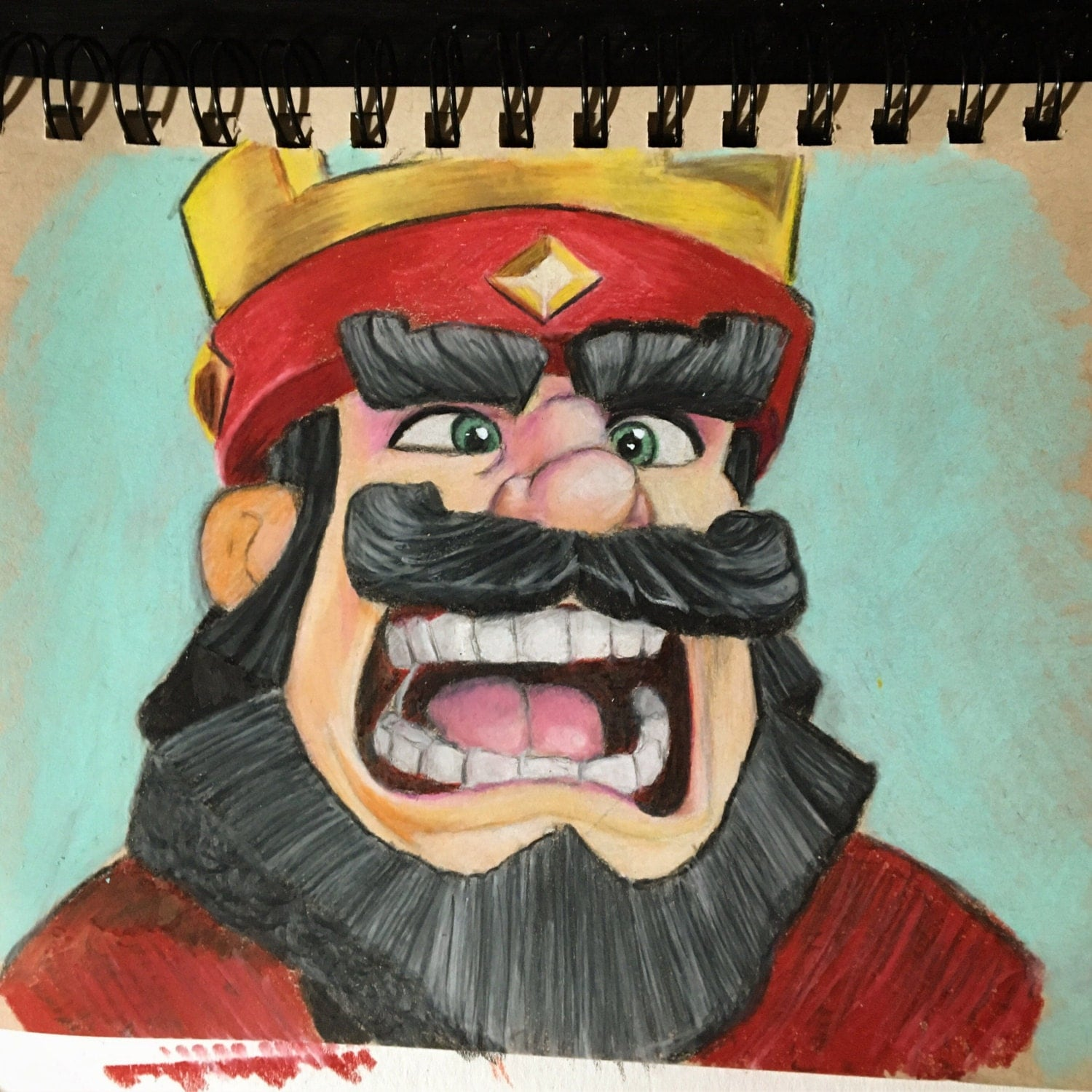 Drawings Clash Mad King Royale
