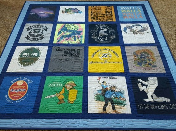 T Shirt Memory Quilt Instructions
