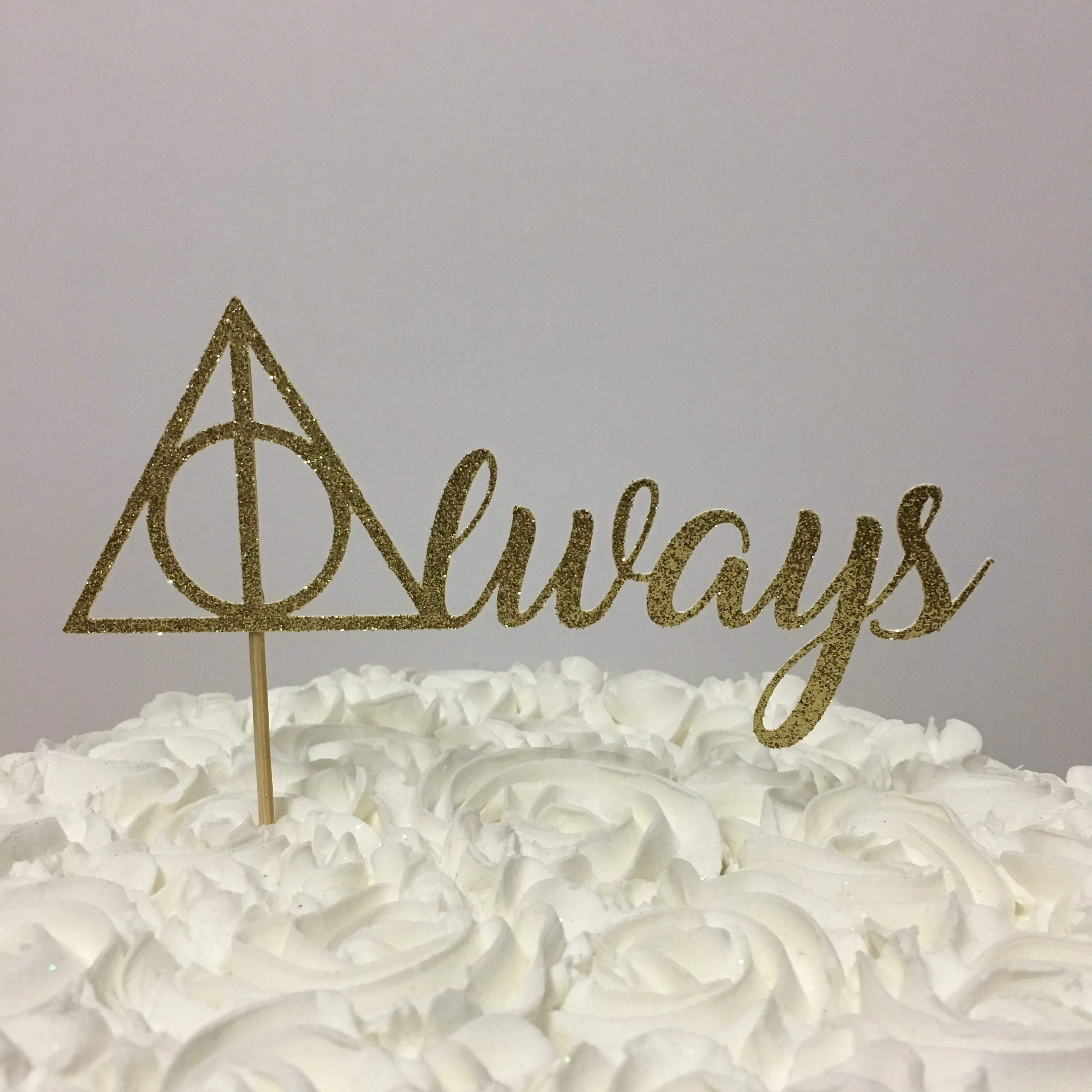 Always Harry Potter Cake Topper   Harry Potter   Wedding   bridal     Il 570xn