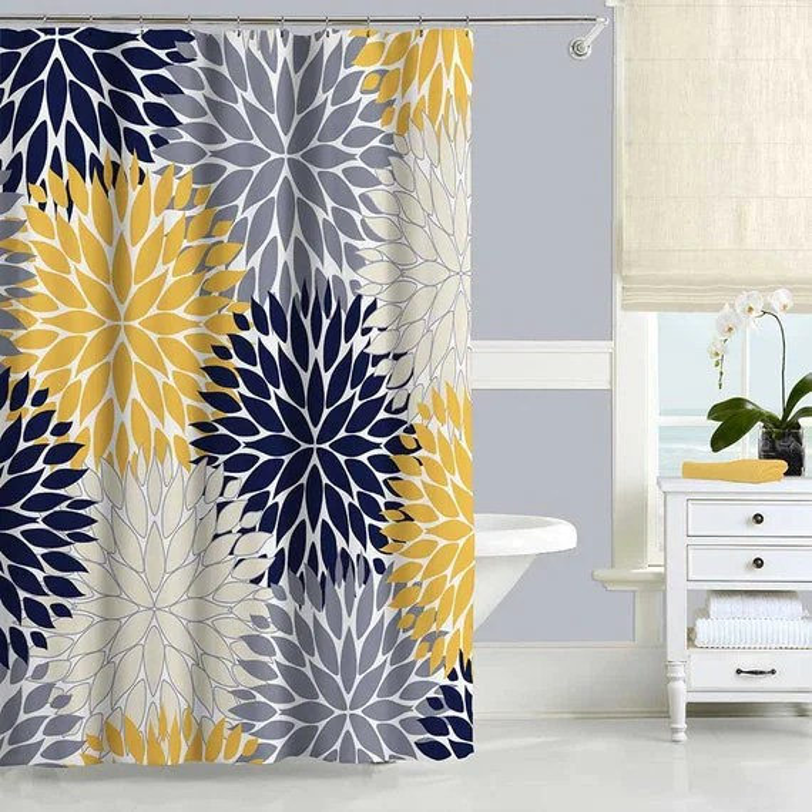 Machine Washable Shower Curtain Liner