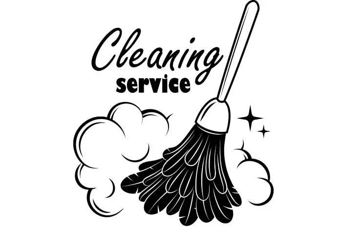 Maid Service Clip Art Vintage