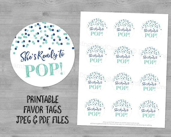 Ready Pop Printable Labels