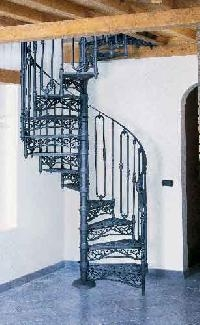 Buy Cast Iron Spiral Staircase From Decora Grill Works Mumbai   Cast Iron Spiral Staircase For Sale   Second Hand   Used   Portable   Modular   Rod Iron
