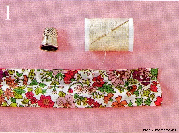 Textile beads do it yourself. Master Class (4) (360x480, 196Kb)