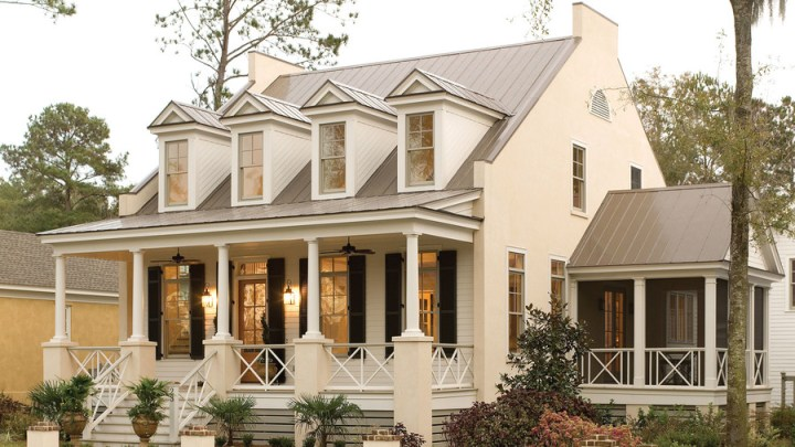 17 House Plans with Porches   Southern Living Eastover Cottage Plan  1666  The front porch