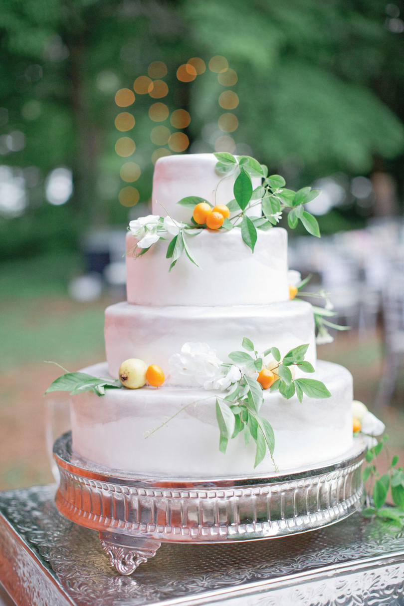 Fresh Fruit Wedding Cakes   Southern Living Cool Citrus Cake