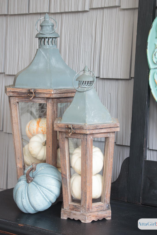 20 Incredible Ways to Decorate with Pumpkins This Fall   Southern Living 20 Incredible Ways to Decorate with Pumpkins This Fall Fill Old Lanterns