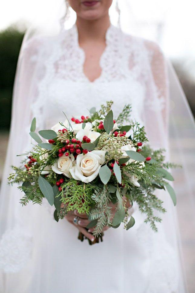 Christmas Themed Wedding Reception Ideas