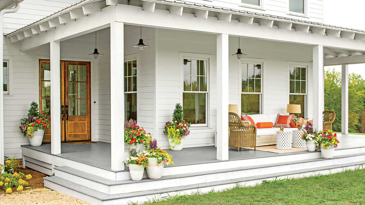 50 S Style Ranch Home Paint Idea