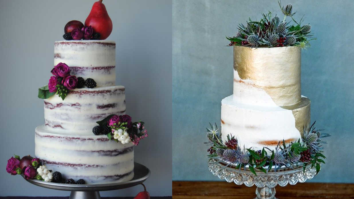 Gorgeous Fall Wedding Cakes We re Drooling Over   Southern Living