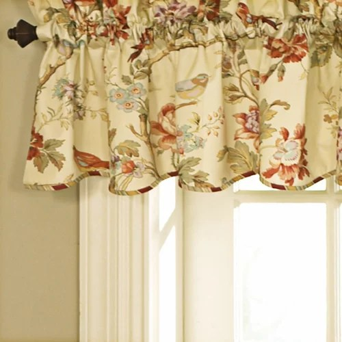 Fabric Shower Curtains Valance