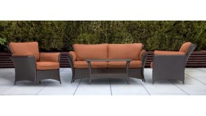 Hanover Outdoor Strathmere Allure 4 Piece Lounge Seating